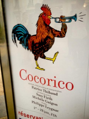 Cocorico au Théâtre du Rond-Point - Paris